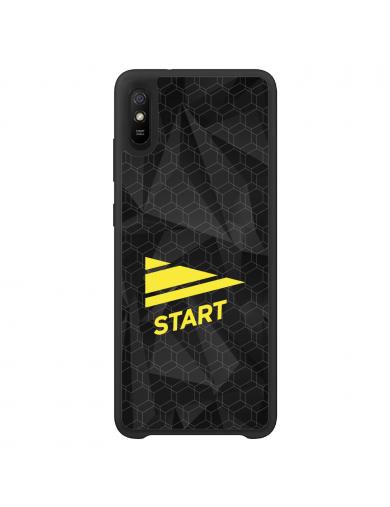 Start Logo Sort deksel